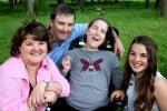 Rosalie Bibeau et famille